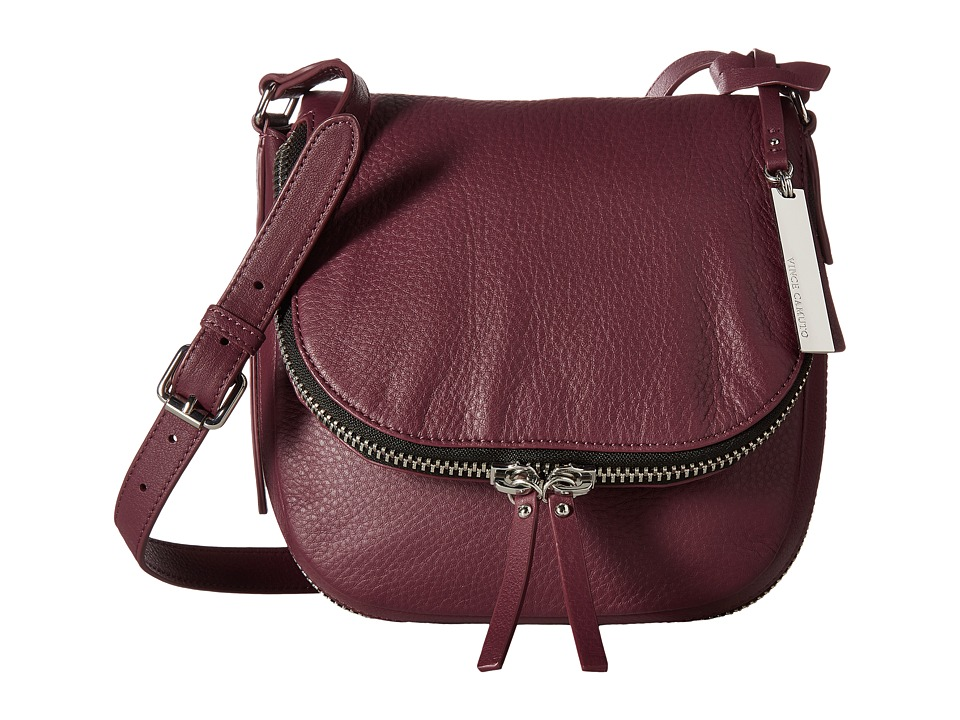 Vince Camuto - Baily Crossbody (Berry Wine) Cross Body Handbags