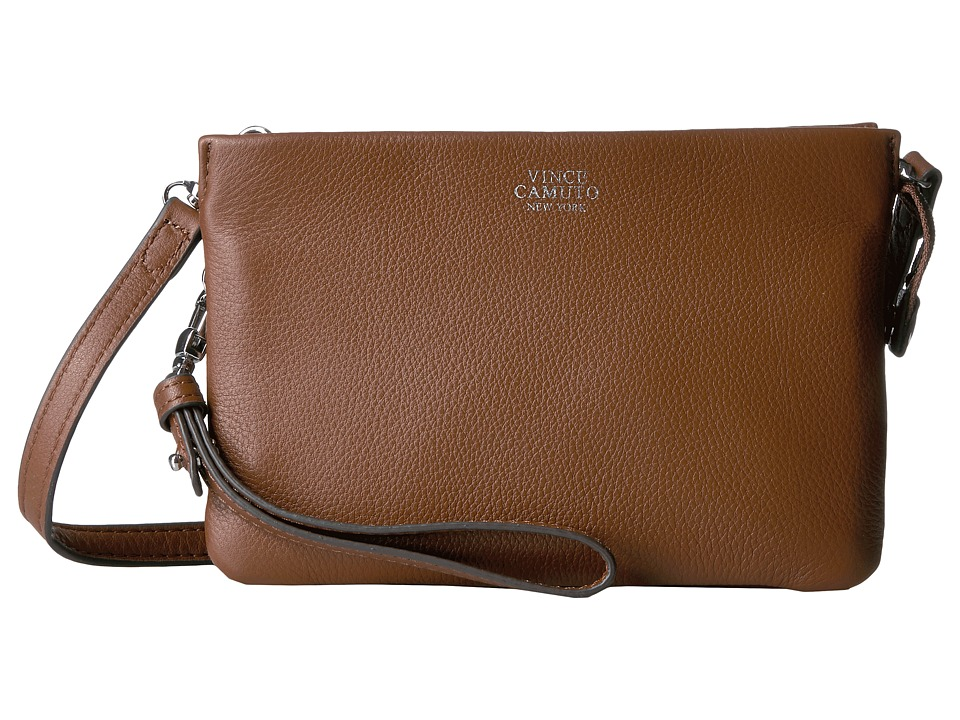 Vince Camuto - Cami Crossbody (Golden Brown) Cross Body Handbags