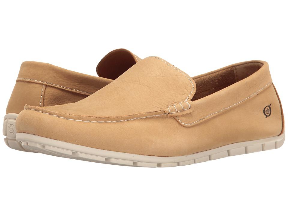 Born Allan (Natural Nubuck) Men's Slip on Shoes