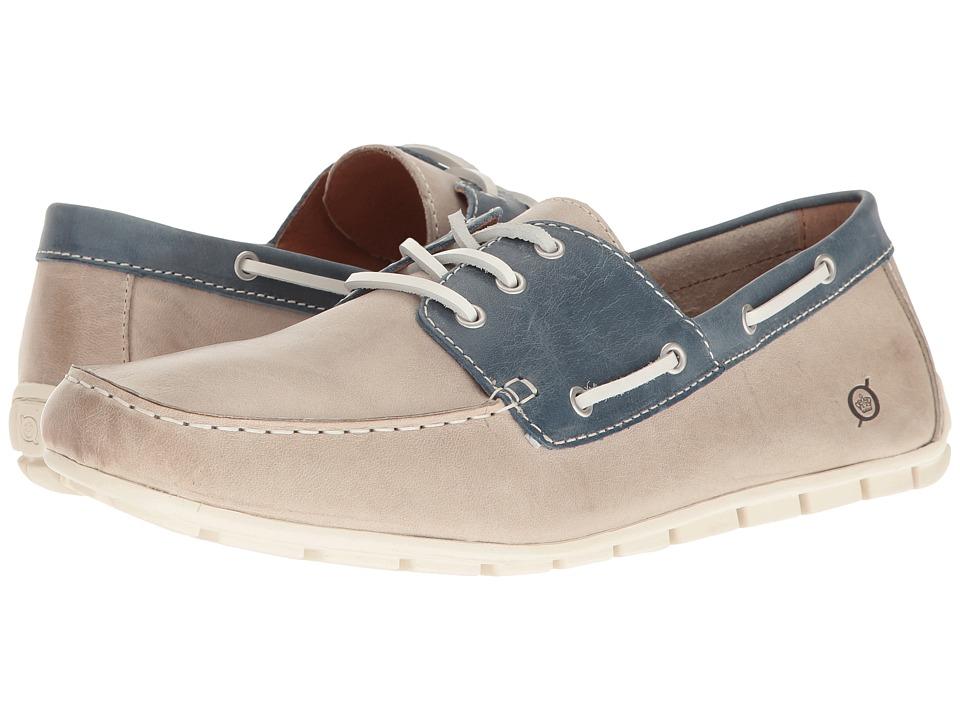 Born - Bernhard (Light Grey/Dark Blue) Men's Lace up casual Shoes