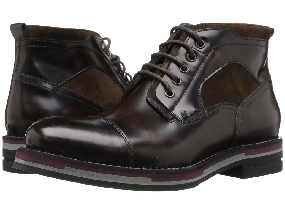 Kenneth Cole New York - Think Tank (Brown) Men's Lace-up Boots