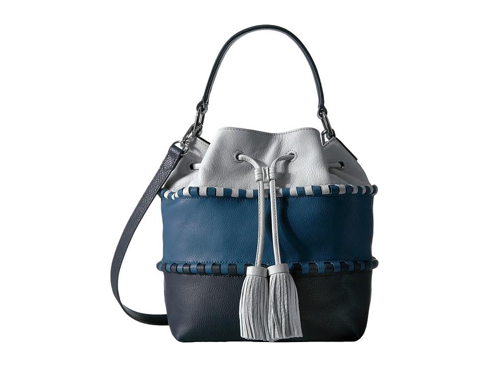 Vince Camuto - Edena Drawstring (Deep Blue/Blue Jay) Drawstring Handbags