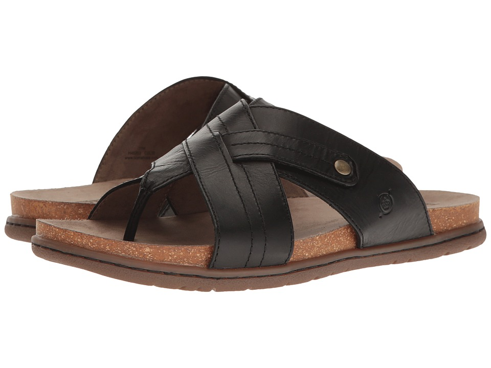Born - Plato (Black) Men's Sandals