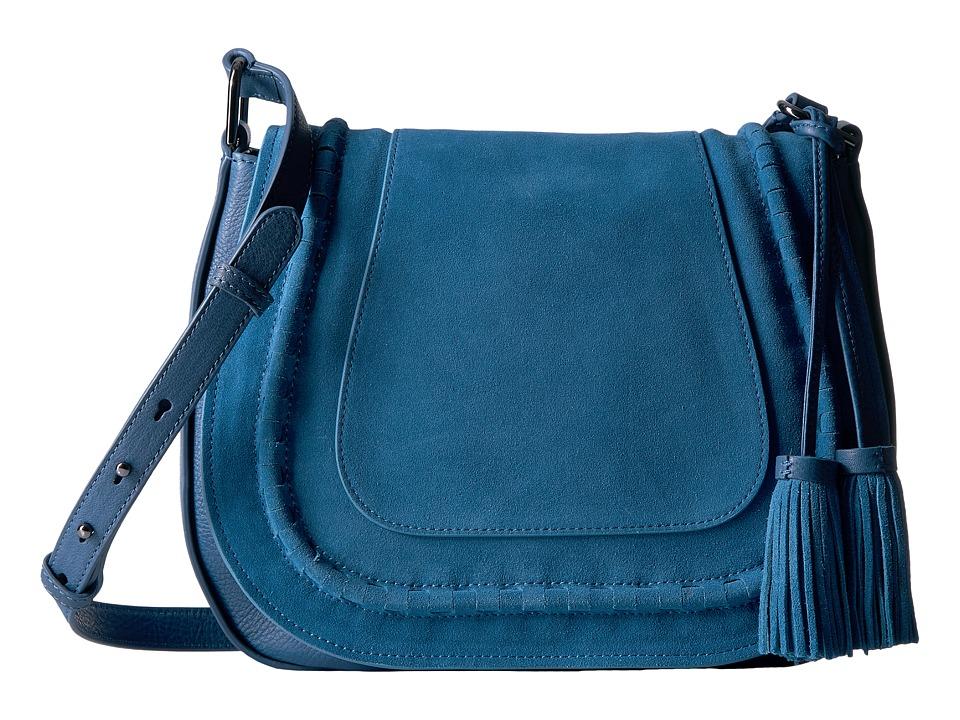Vince Camuto - Edena Flap (Blue Jeans) Handbags