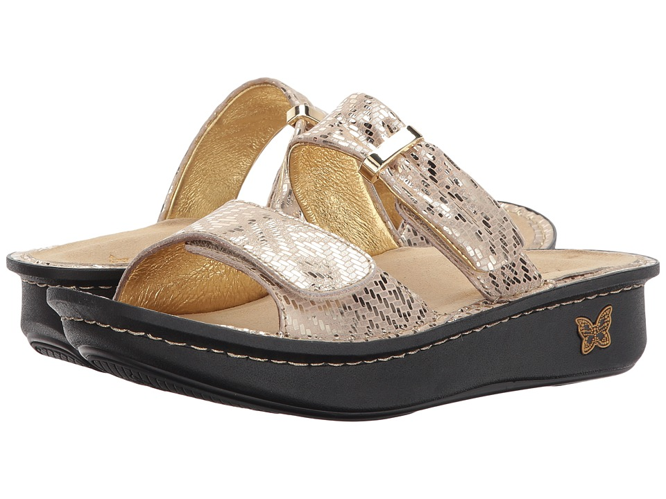 Alegria - Karmen (Gold Dazzler) Women's Sandals
