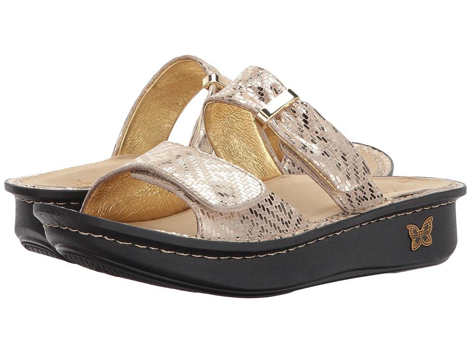 Alegria - Karmen (Gold Dazzler) Women's Sandals