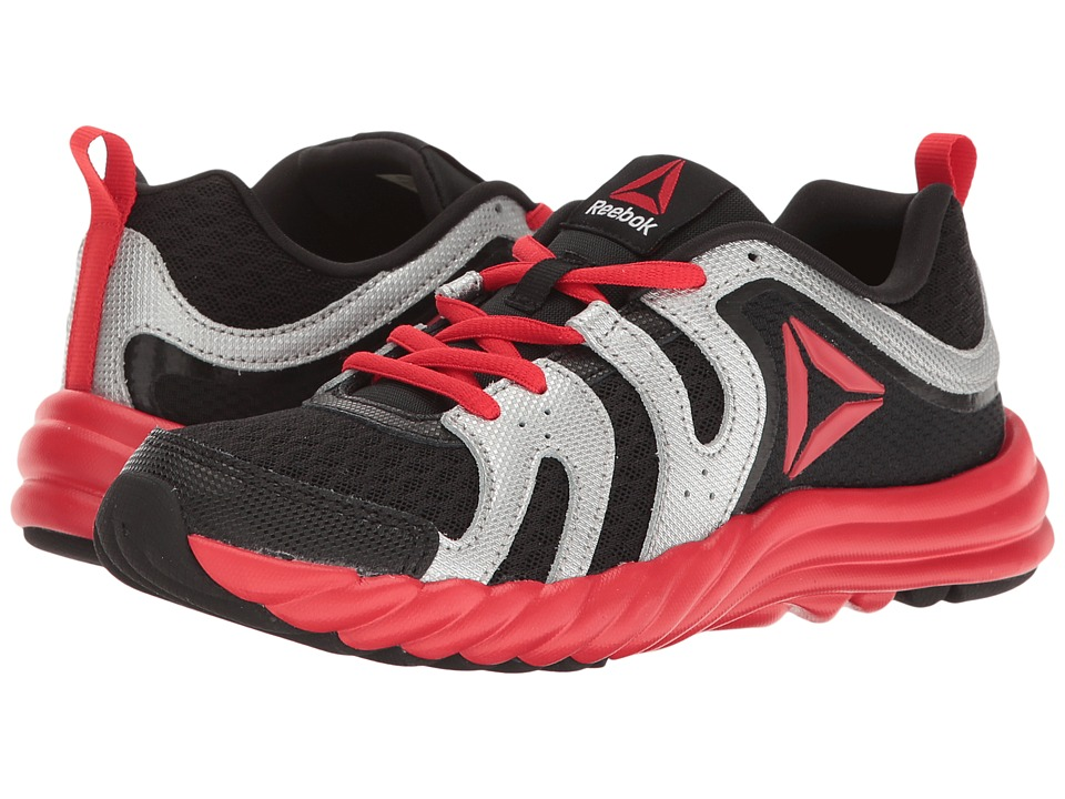 Reebok Kids - Royal Thunder (Big Kid) (Black/Primal Red/Silver Metallic/Asteroid Dust) Boys Shoes