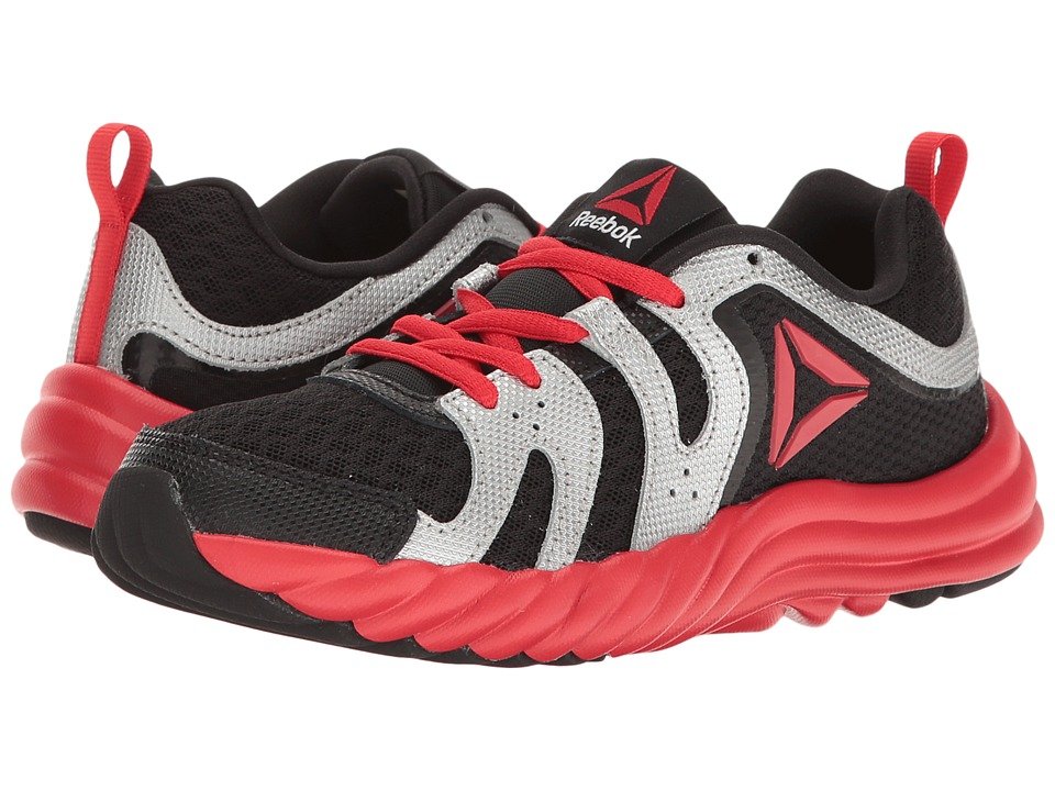 Reebok Kids - Royal Thunder (Little Kid) (Black/Primal Red/Silver Metallic/Asteroid Dust) Boys Shoes