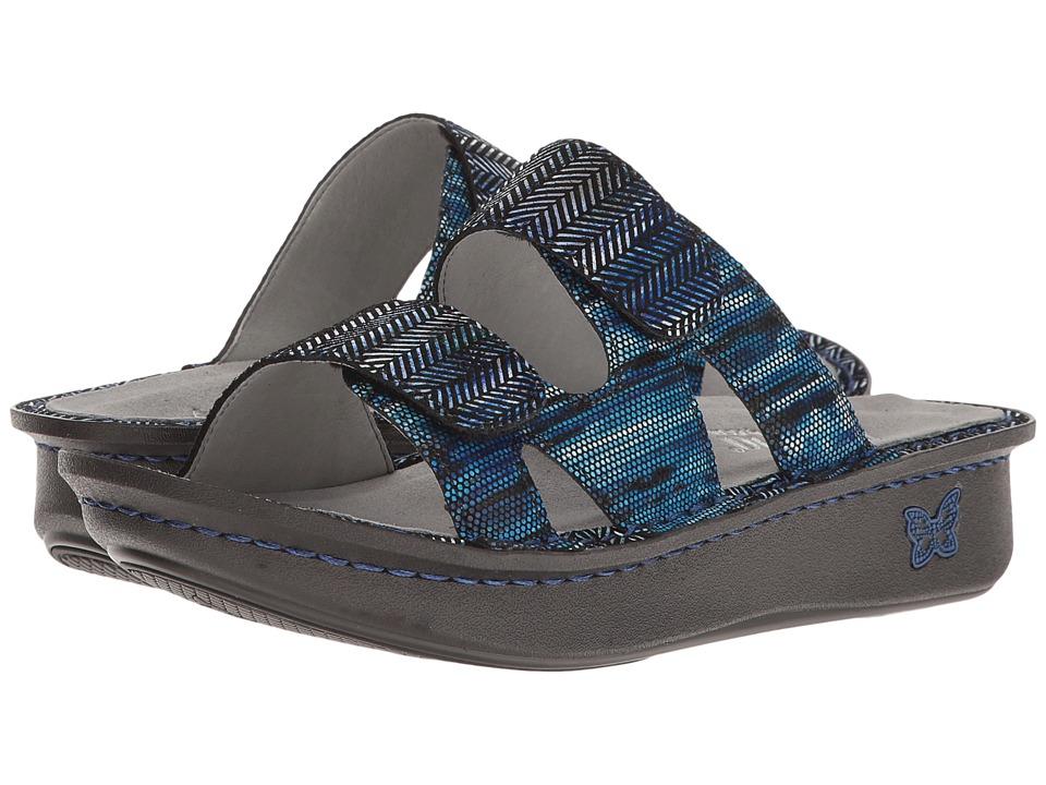 Alegria - Camille (Wavy Navy) Women's Shoes