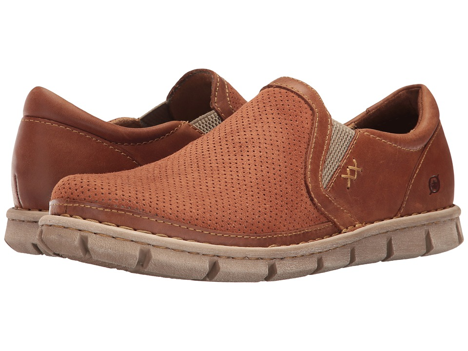 Born - Sawyer (Rust/Rust Combo) Men's Slip on Shoes