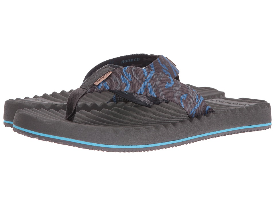 Freewaters - Treeline (Dark Grey/Blue) Men's Shoes