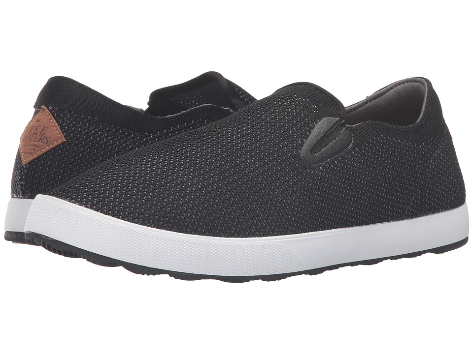 Freewaters - Sky Slip-On Knit (Black) Men's Shoes