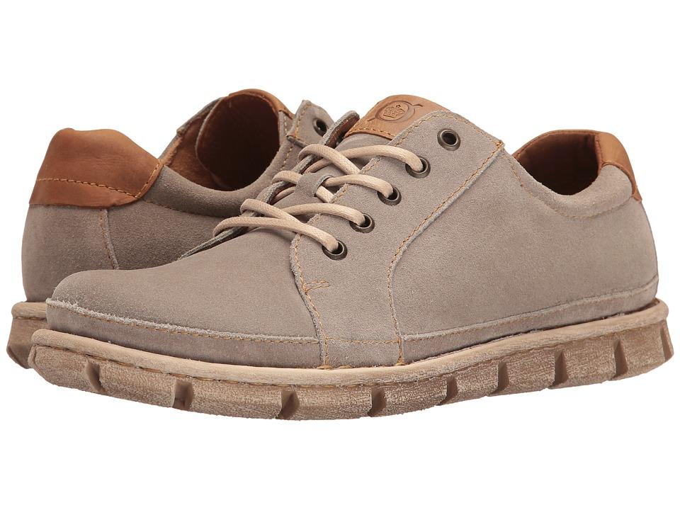 Born - Salem (Light Grey Suede) Men's Lace up casual Shoes