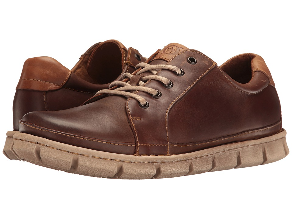 Born - Salem (Dark Brown Full Grain Leather) Men's Lace up casual Shoes