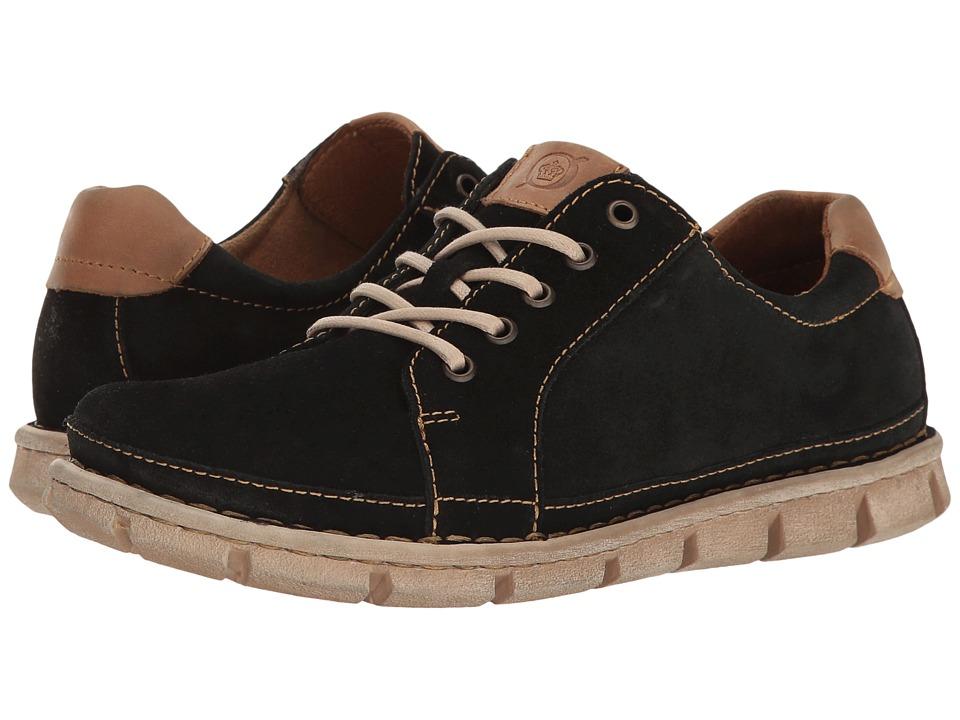 Born - Salem (Black Suede) Men's Lace up casual Shoes