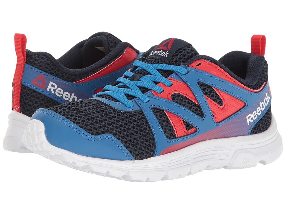 Reebok Kids - Run Supreme 2.0 (Little Kid/Big Kid) (Awesome Blue/Collegiate Navy/Primal Red/White) Boys Shoes