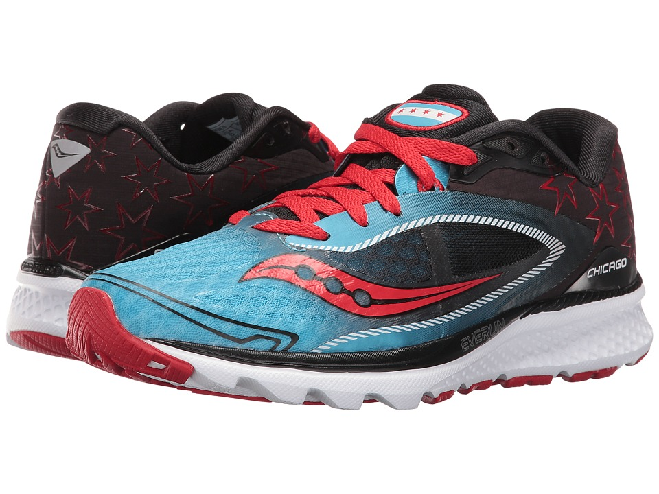 Saucony Kinvara 7 (Blue/Black/Red) Women
