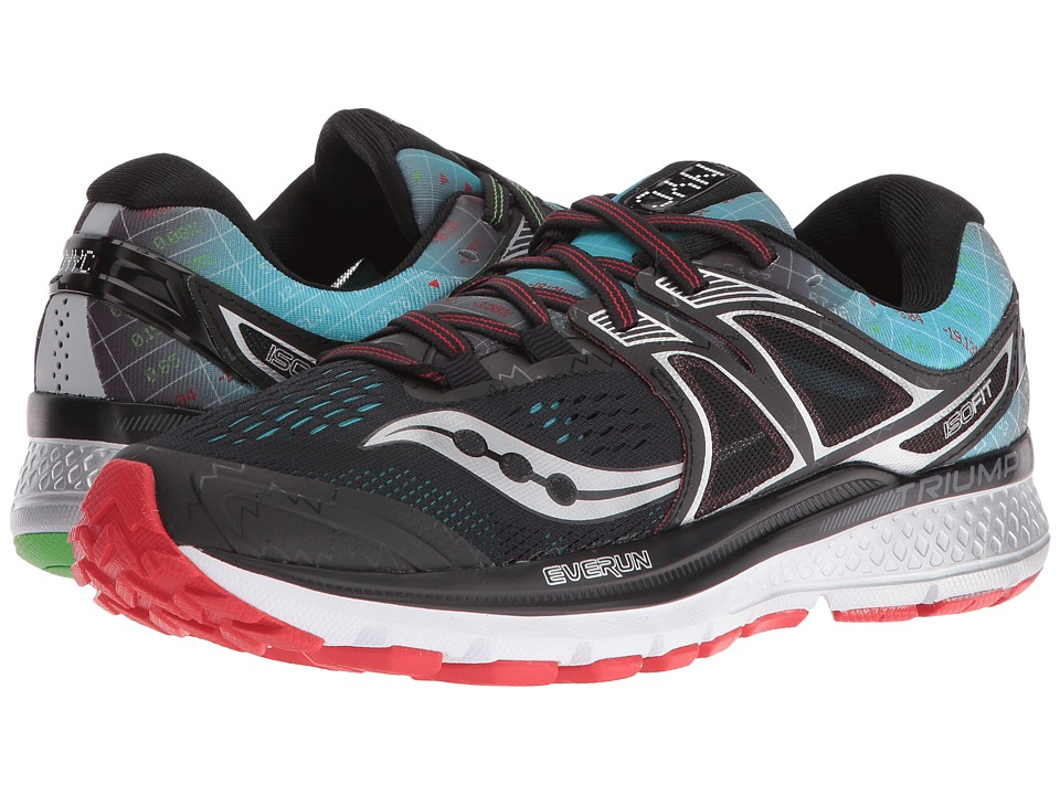 Saucony - Triumph ISO 3 (Black) Women's Shoes
