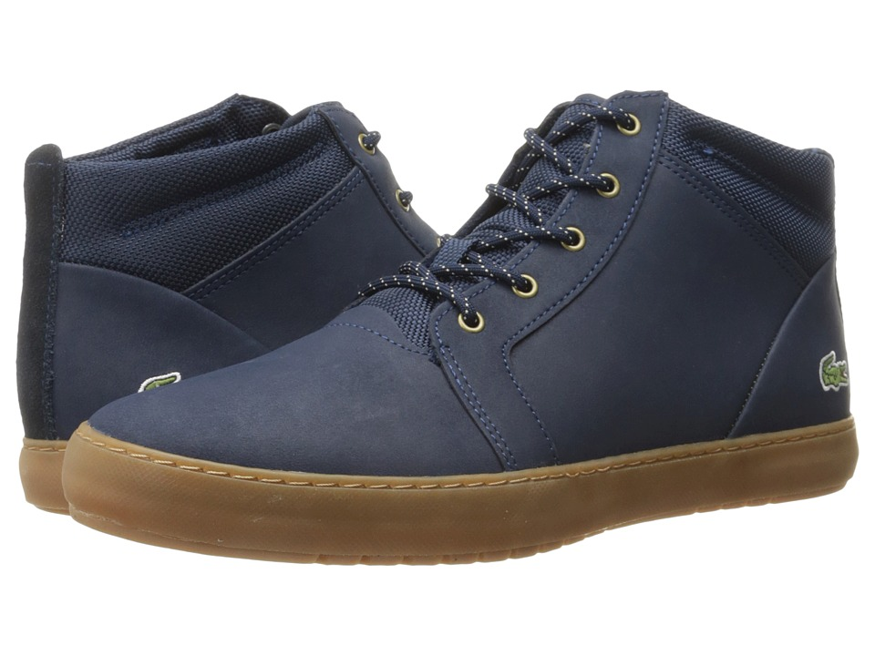 Lacoste - Ampthill Chukka 416 1 (Navy) Women's Shoes