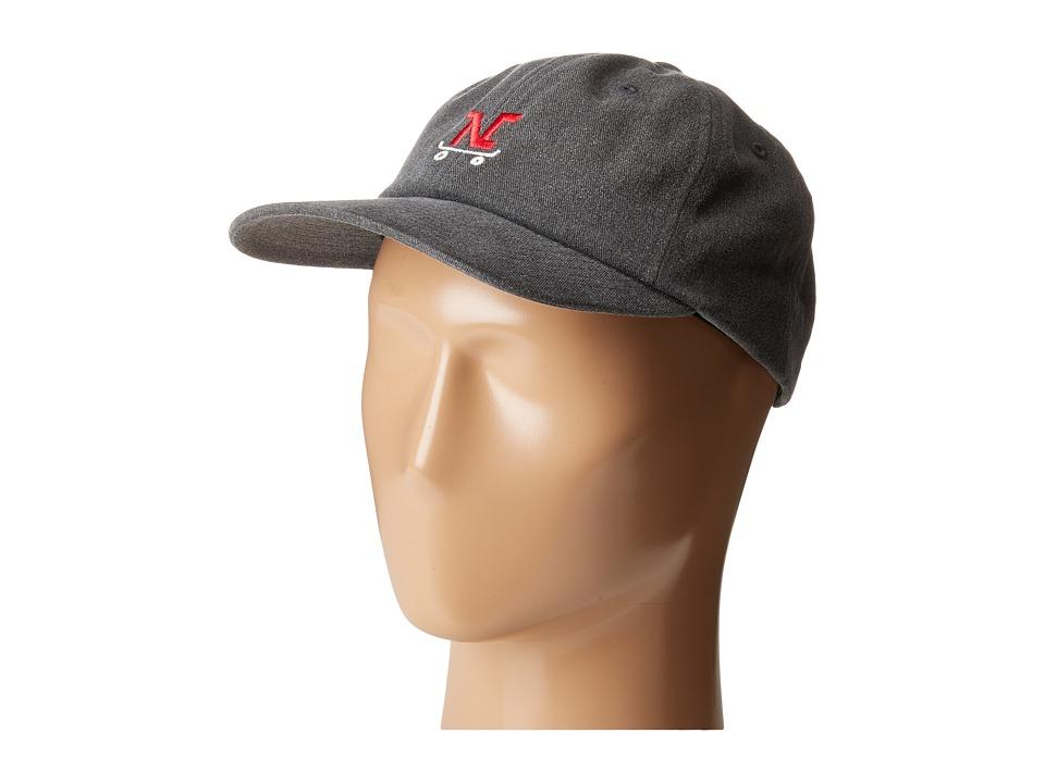 Nixon - The JB Strapback Hat (Gray) Baseball Caps