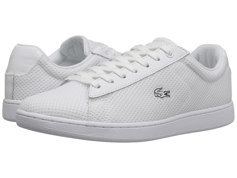 Lacoste - Carnaby EVO 416 1 (White) Women's Shoes