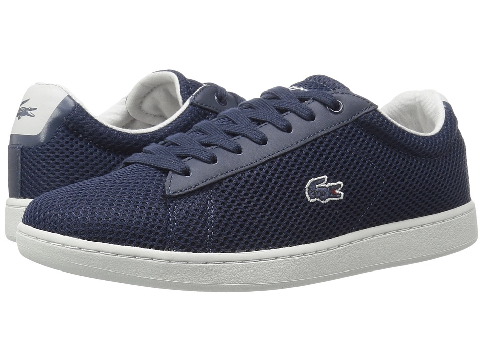Lacoste - Carnaby EVO 416 1 (Navy) Women's Shoes