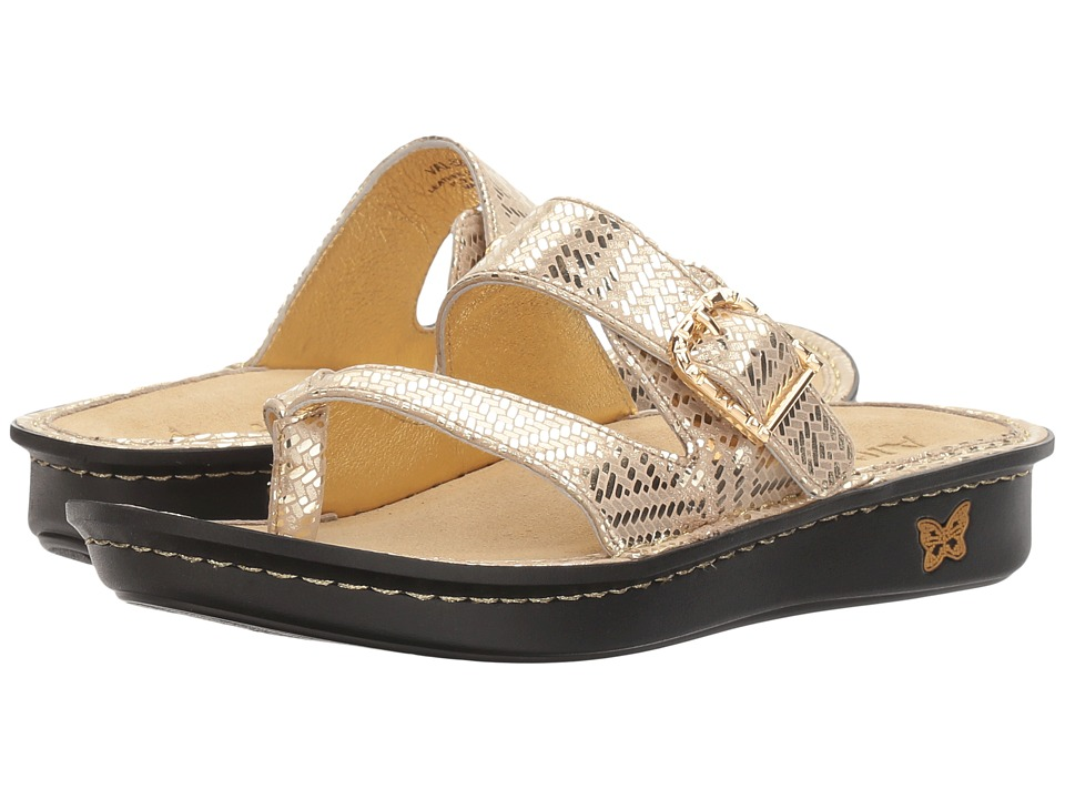 Alegria - Valentina (Gold Dazzler) Women's Sandals