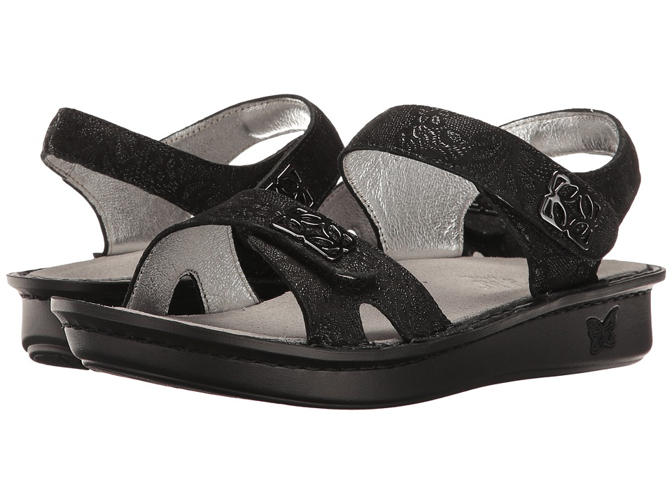 Alegria - Vienna (Black Leaf) Women's Shoes