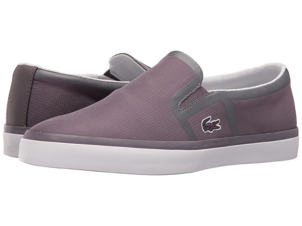 Lacoste - Gazon 416 2 (Dark Grey) Women's Shoes
