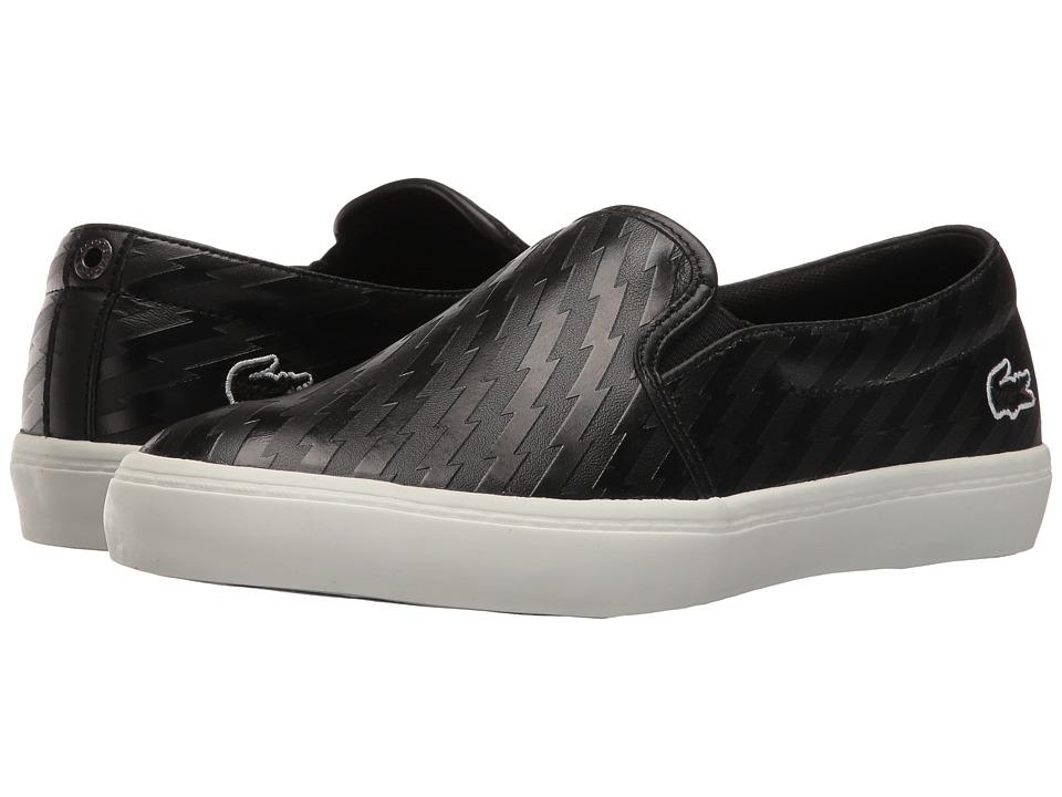 Lacoste - Gazon W 416 2 (Black) Women's Shoes