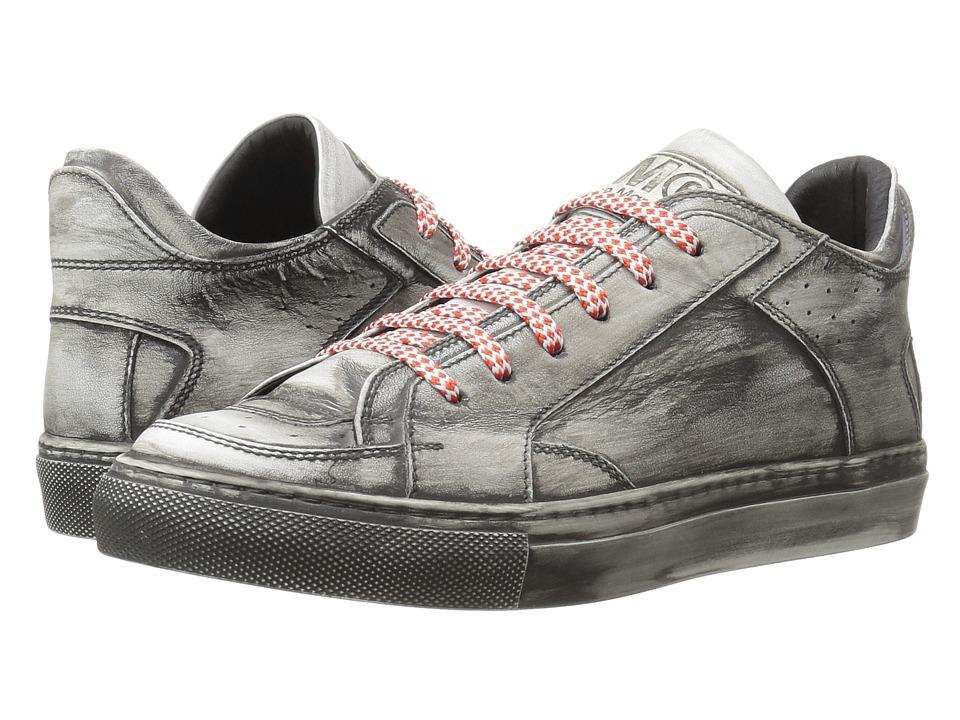 MM6 Maison Margiela - Used Look Sneaker (White/Black) Women's Shoes