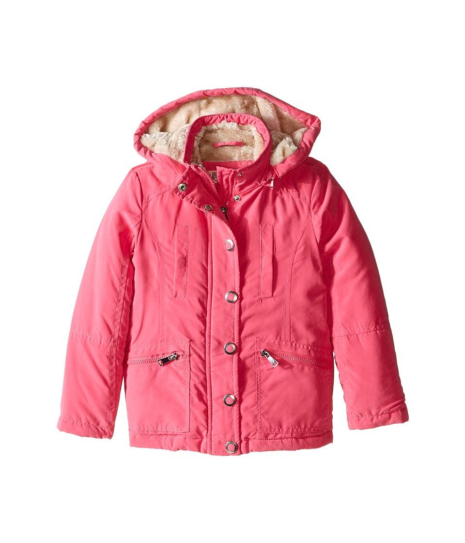 Urban Republic Kids Peach Finish Microfiber Jacket (Little Kids/Big Kids) (Pink) Girl