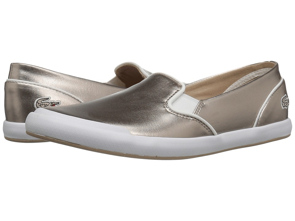 Lacoste - Lancelle Slip-On 316 2 (Grey) Women's Shoes