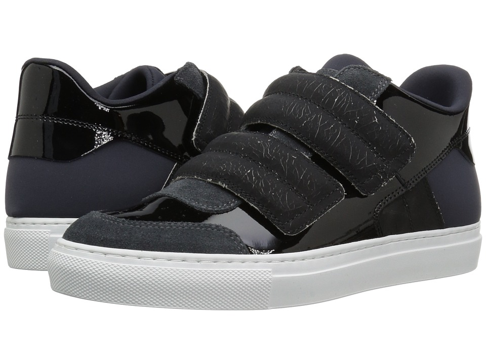 MM6 Maison Margiela - Classic Low Hook and Loop Sneaker (Dark Grey/Black) Women's Shoes