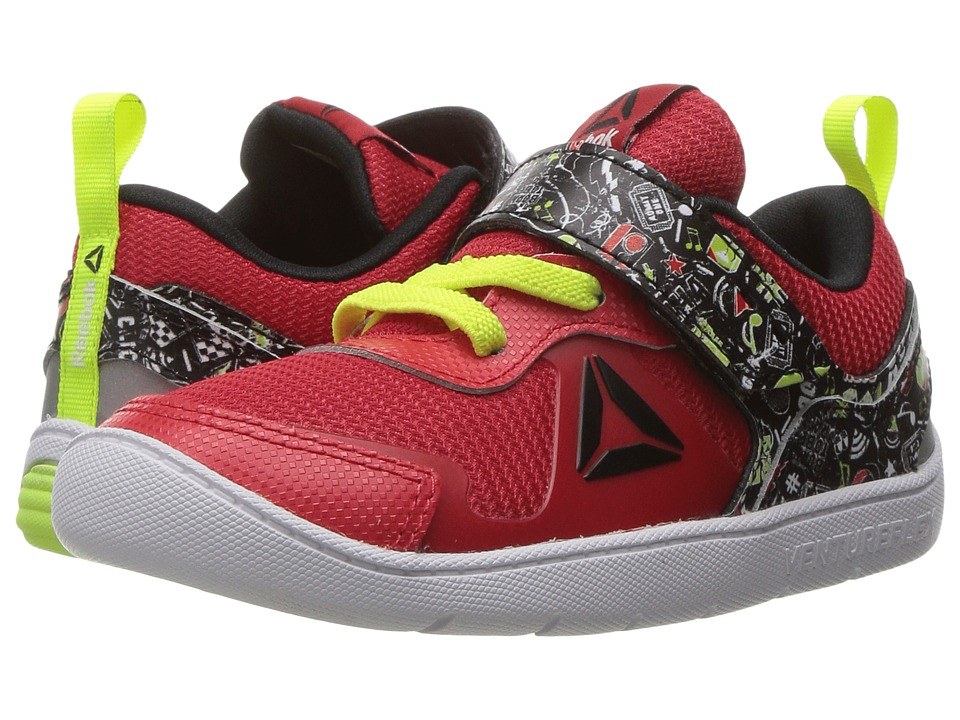 Reebok Kids - Ventureflex Stride 5 NAA (Toddler) (Primal Red/Black/Solar Yellow/White) Boys Shoes