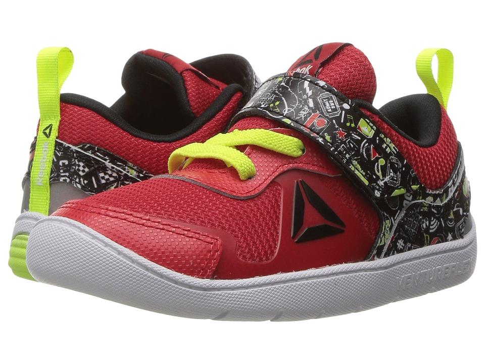 Reebok Kids - Ventureflex Stride 5 NAA (Toddler) (Primal Red/Black/Solar Yellow/White) Boys Shoes