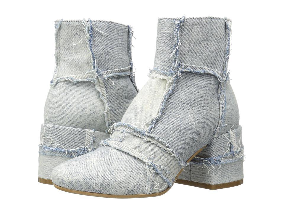 MM6 Maison Margiela - Vintage Denim Ankle Boot (Super Vintage Denim) Women's Boots