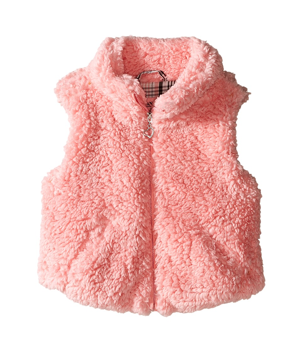 Urban Republic Kids - Woobie/Sherpa Vest (Infant/Toddler) (Powder Pink) Girl's Vest