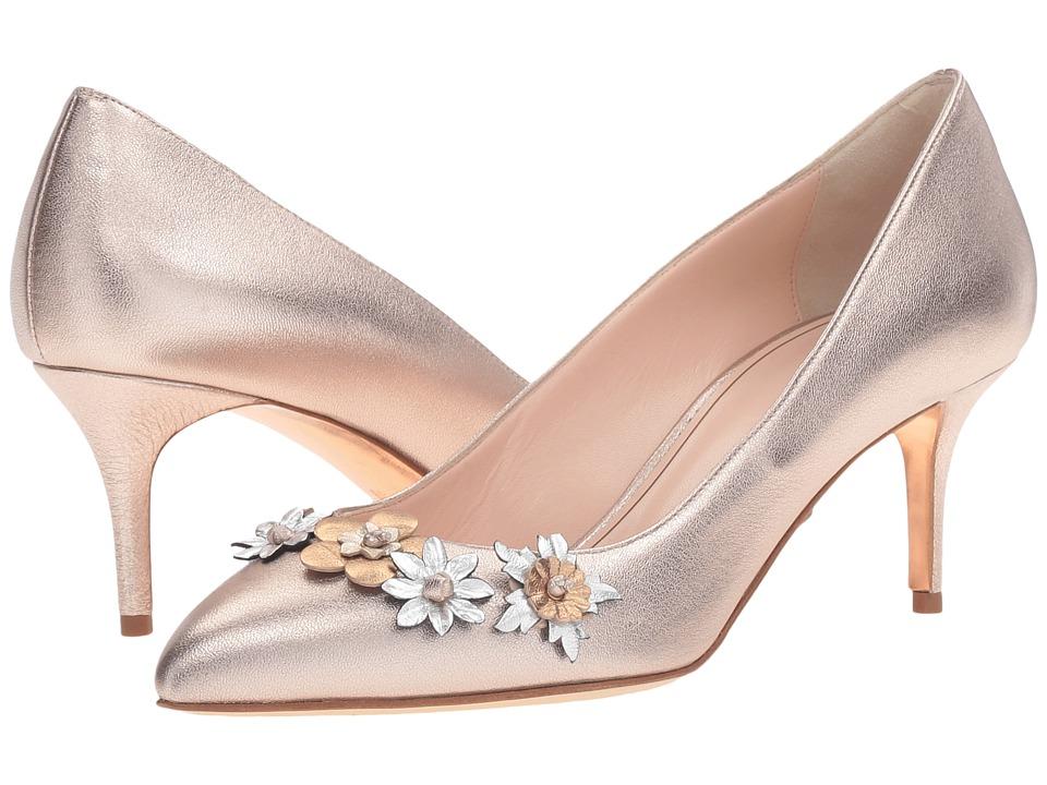 Oscar de la Renta - Carrie (Rose Gold Metallic Nappa/Leather) Women's Shoes