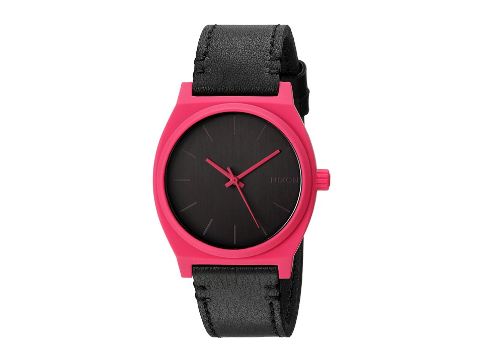 Nixon - The Time Teller X The Fast Pace Collection (Pink/Black) Watches