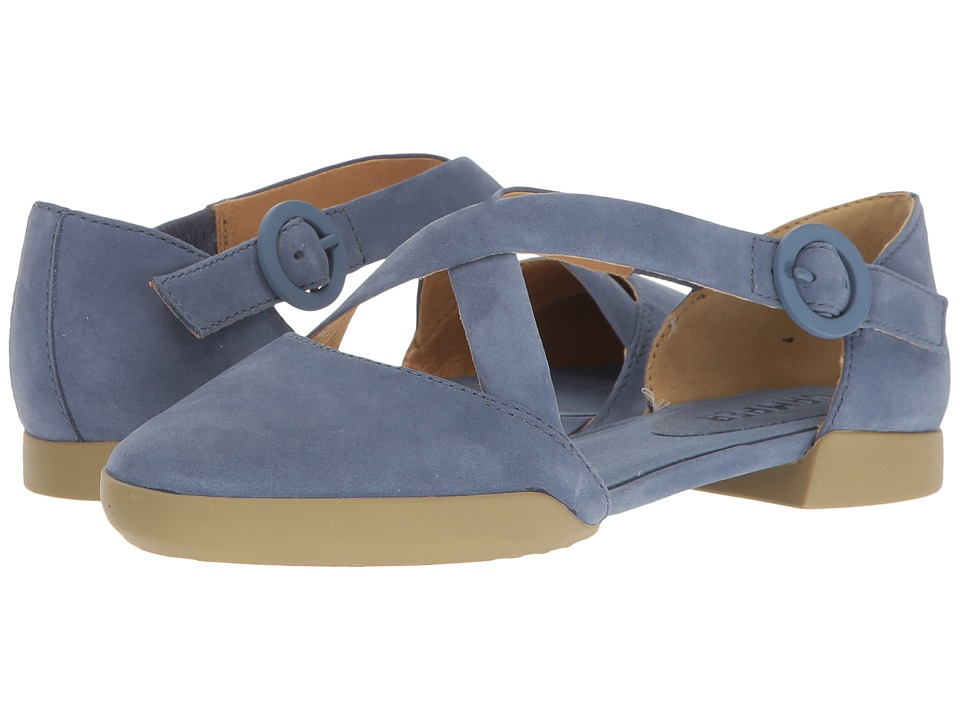 Camper - Casi Tiptap - K200449 (Medium Blue) Women's Flat Shoes