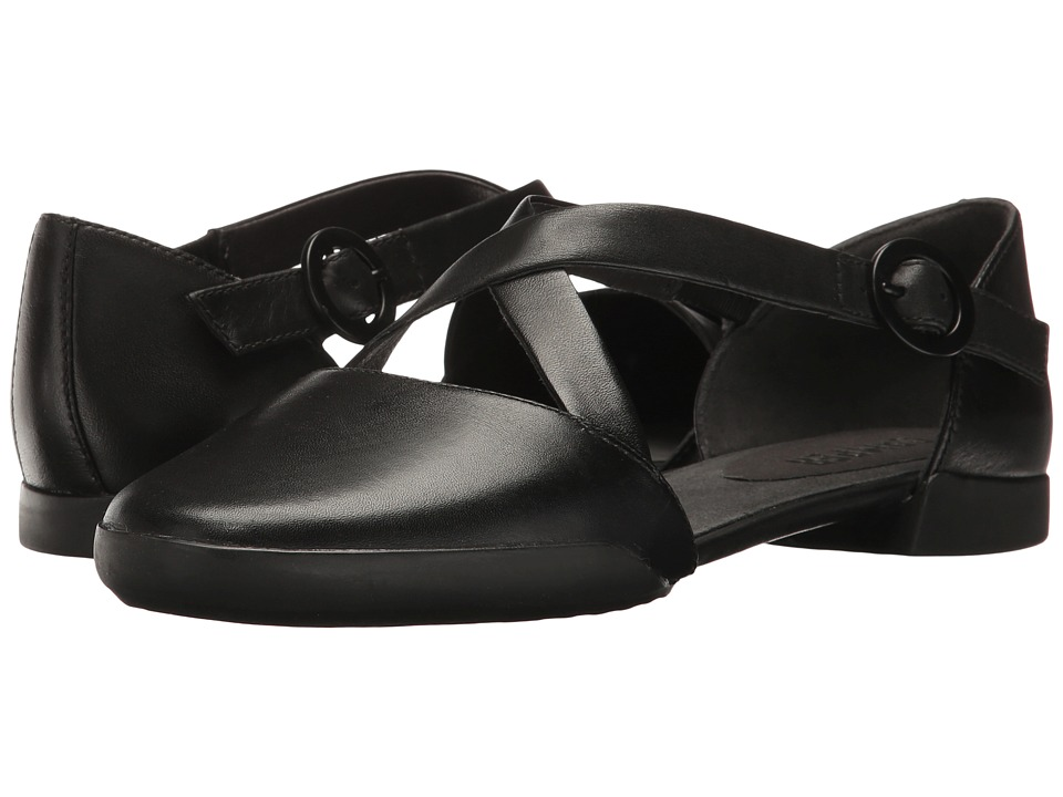 Camper - Casi Tiptap - K200449 (Black) Women's Flat Shoes
