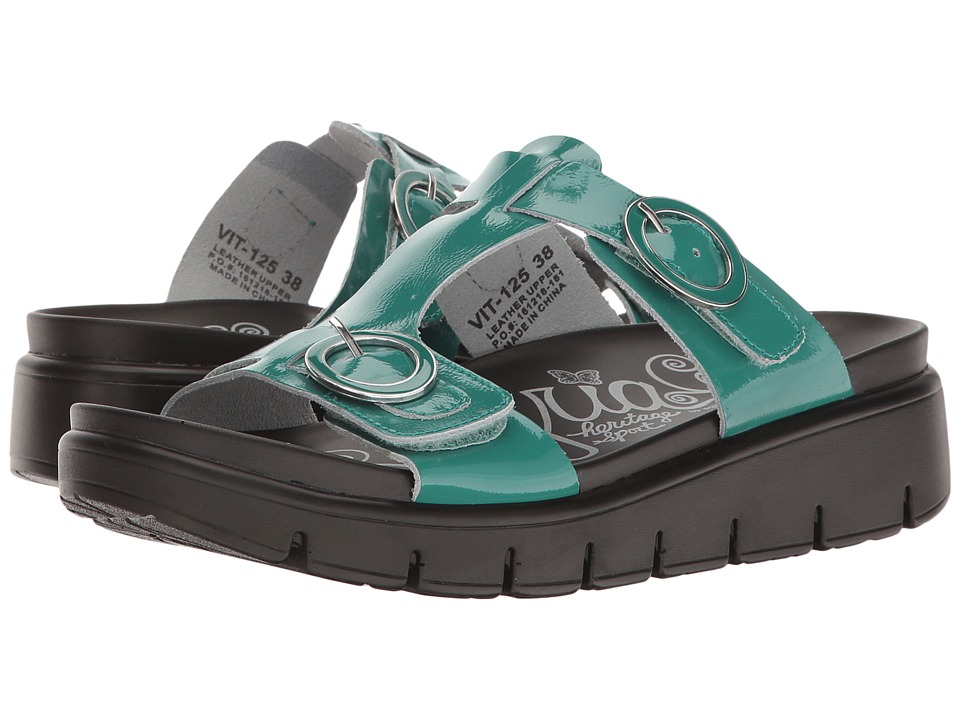 Alegria - Vita (Turquoise Patent) Women's Shoes