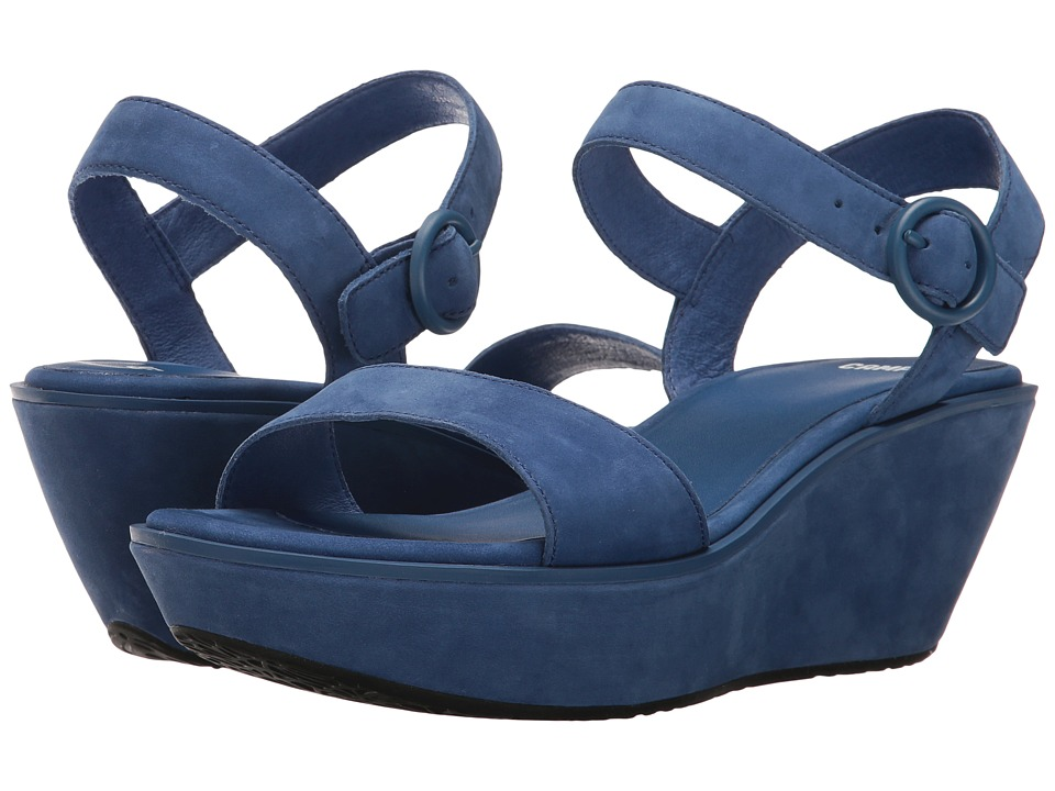 Camper - Damas - 21923 (Medium Blue) Women's Wedge Shoes