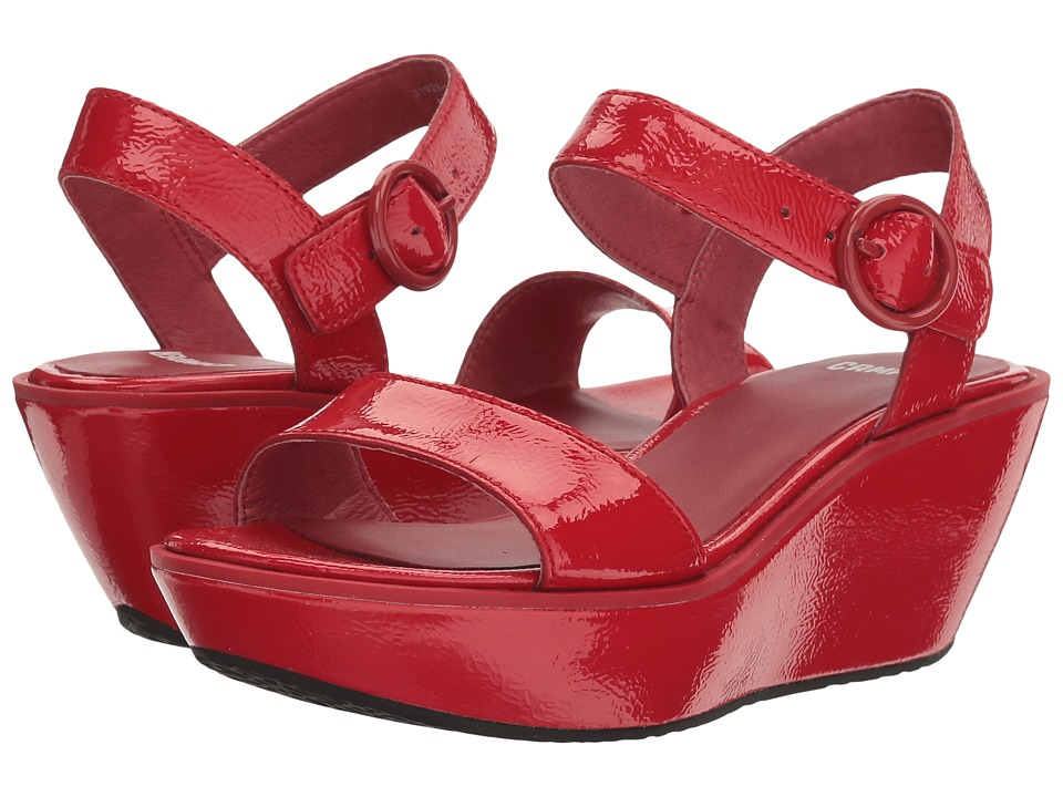 Camper - Damas - 21923 (Medium Red) Women's Wedge Shoes