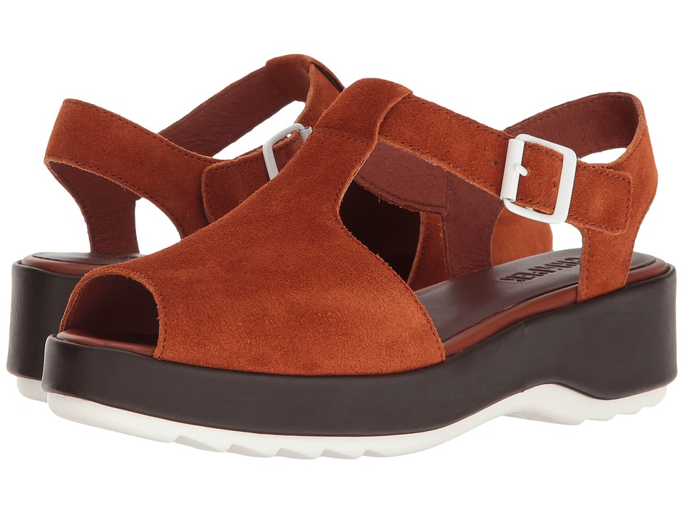 Camper - Dessa - K200083 (Medium Brown) Women's Sandals
