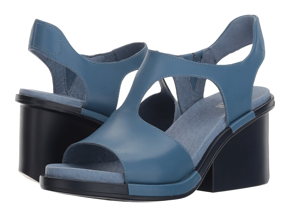 Camper - Ivy - K200419 (Medium Blue) Women's Dress Sandals