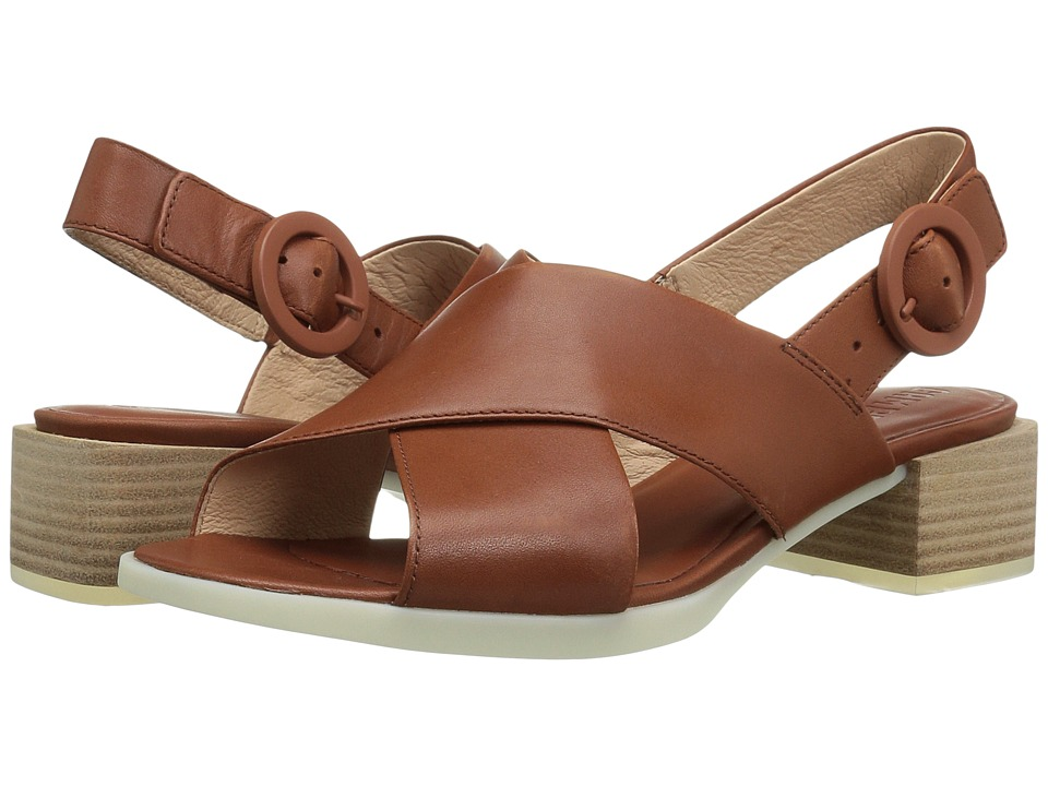 Camper - Kobo - K200327 (Medium Brown) Women's Dress Sandals