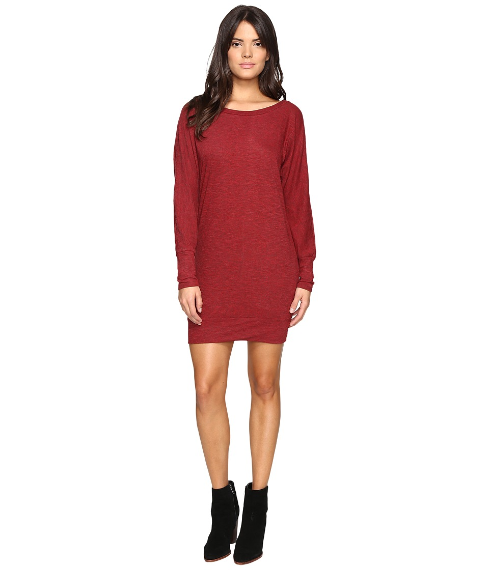 Lanston - Boyfriend Mini Dress (Red) Women's Dress