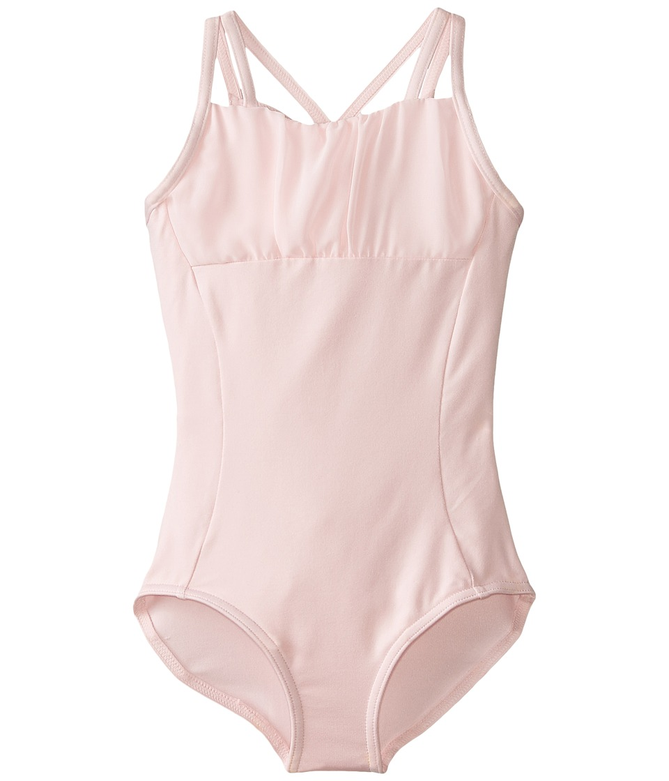 Capezio Kids - Geometric Leotard (Toddler/Little Kids/Big Kids) (Pink) Girl's Jumpsuit & Rompers One Piece